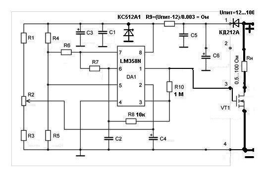 Регулятор оборотов электродвигателя 12в на транзисторе своими руками фото 77